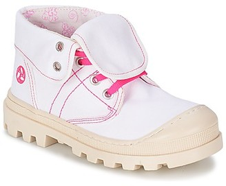 Citrouille et Compagnie BASTINI girls's Mid Boots in White
