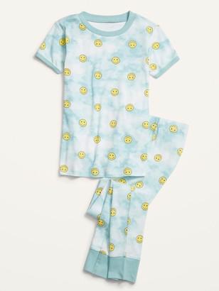 Old Navy Gender-Neutral Snug-Fit Printed Pajama Set for Kids