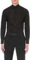 Alexander McQueen bib detail cotton shirt