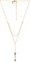 Rebecca Minkoff Arrow Layered Y Necklace