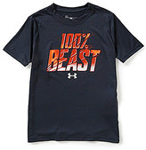 Under Armour Big Boys 8-20 All Beast All Day Short-Sleeve Graphic Tee