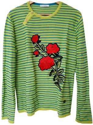 Versace Green Cotton Knitwear for Women