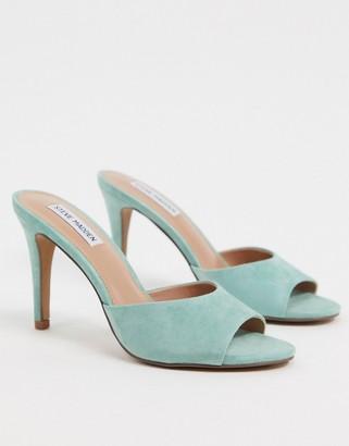 Steve Madden Erin heeled mules in mint