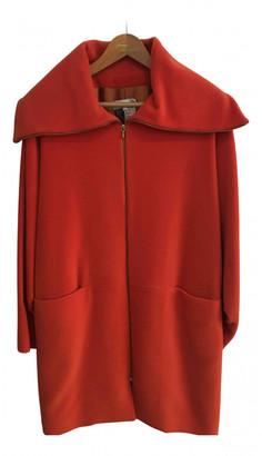 Georges Rech Orange Wool Coats