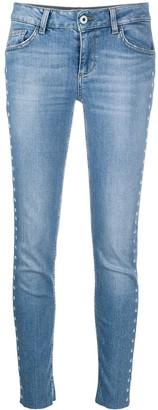 Liu Jo Mid-Rise Cropped Jeans