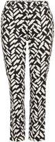 Linea Brush stroke printed trouser