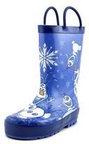 Disney Frozen Warm Hugs Round Toe Synthetic Rain Boot.