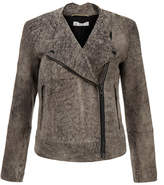 Dagmar Adamina Elephant Grey Suede Jacket