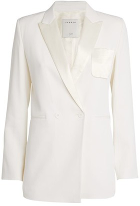 Sandro Paris Tailored Blazer Jacket