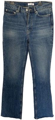 Anine Bing Fall Winter 2019 Blue Denim - Jeans Jeans