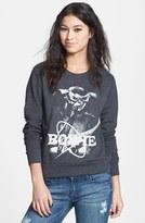 Electric Circus 'David Bowie' Sweatshirt (Juniors) (Online Only)