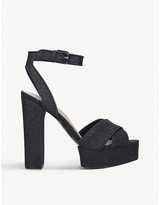 Aldo Glyndwr glitter platform sandal