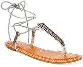 Roxy Caspian Tie-Up Thong Sandals