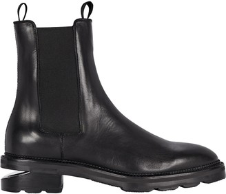 Alexander Wang Andy Leather Chelsea Ankle Boots