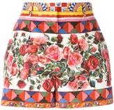 Dolce & Gabbana Mambo print shorts - women - Cotton - 38