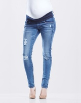 Soon Blaze Maternity Denim