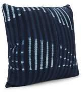 Saks Fifth Avenue Throw Pillows of Vintage Indigo Fabrics