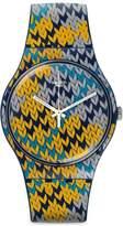 Swatch Men's Originals SUON110 Multi Silicone Swiss Quartz Watch