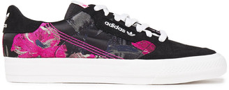 adidas Continental Suede And Jacquard Sneakers