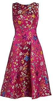 Etro Women's Floral Brocade Midi Dress
