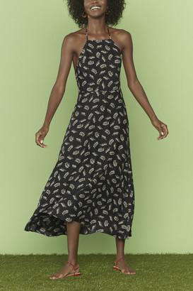 HVN Reece Halter Back Dress