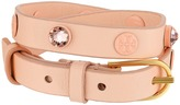Tory Burch Crystal Beaded Double Wrap Bracelet