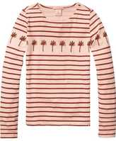 Scotch & Soda Striped T-Shirt | Long Sleeve