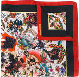 DSQUARED2 printed scarf