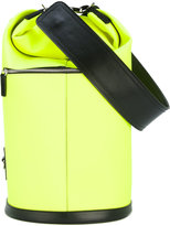 MSGM neon bucket bag - women - Cotton/Calf Leather/Polyester/Polyurethane - One Size
