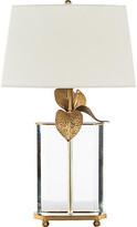 Cymbidium Table Lamp - Crystal/Brass - Bradburn Home