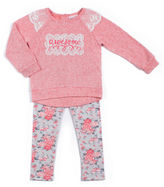 Little Lass 2-pc. Coral Awesome Set - Preschool Girls 4-6x