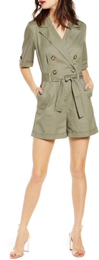 Leith Utility Belted Romper