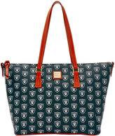 Dooney & Bourke NFL Raiders Zip Top Shopper