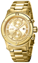 JBW Strider 18K Yellow Gold-Plated Stainless Steel & Diamond Chronograph Watch, 44mm