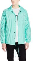 Diamond Supply Co. Men's OG Script Brilliant Co.aches Jacket