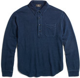 Ralph Lauren Indigo Cotton Mesh Polo Shirt