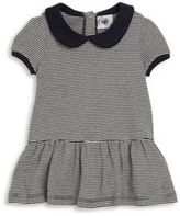 Petit Bateau Baby's Short Sleeve Striped Dress