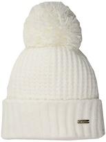 Calvin Klein Chenille Hat with Pom Caps