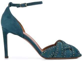 L'Autre Chose micro studded sandals