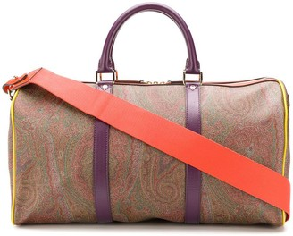Etro Paisley Print Holdall Bag