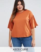 Asos T-Shirt with Ruffle Sleeve