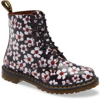 Dr. Martens 1460 Pascal Pansy Print Boot