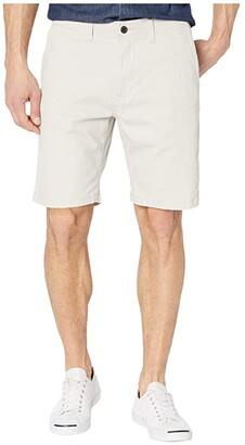 Lucky Brand Flat Front Shorts (Moonstruck) Men's Shorts