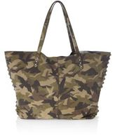 Rebecca Minkoff Medium Unlined Camo Leather Tote