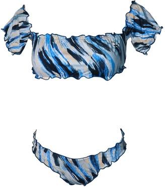 Mabi Swimwear Bikini Two Pieces Taty Leopard Prints