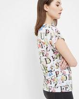 Ted Baker AZ Floral print Tshirt