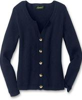 Refined Mini Cable Cardigan Sweater