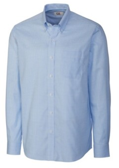 Cutter & Buck Men's Long Sleeve Tattersall