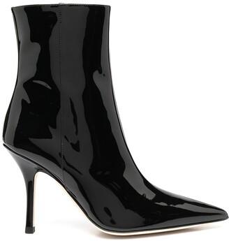Paris Texas Point-Toe Ankle Boots
