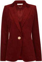 Vanessa Bruno Red Corduroy Fragrance Jacket